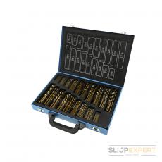 Perfect Tool HSS-Co Spiraalborenmagazijn 1-10mm 0,5mm oplopend 170 delig