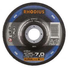 Rhodius KSM afbraamschijf125 x 7,0 mm