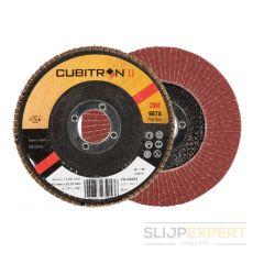 3M™ Cubitron™ II lamellenschijf 967A conisch115 mm P80