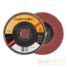3M™ Cubitron™ II lamellenschijf 967A vlak 115 mm P40