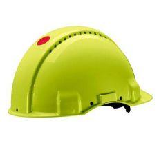 3M PELTOR G3000NUV-GB veiligheidshelm met draaiknop neon-groen