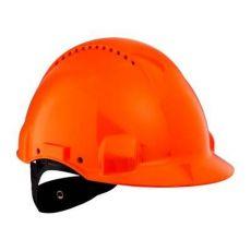3M PELTOR G3000NUV-OR veiligheidshelm met draaiknop oranje