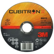 3M™ Cubitron™ II doorslijpschijf T41, 125 x 1,0 mm