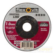 Flexovitafbraamschijfalu A36 Q 125x7x22,23 T27
