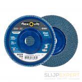 Flexovitvlaklamelschijfvlak Speedoflex 125x22 R822 P60