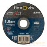 Flexovitdoorslijpschijfvlak Speedoflex A46/60V 125x1x22,23 T41