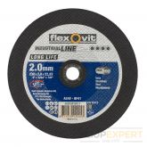 Flexovit doorslijpschijf vlakLong Lifeinox A24V 230x2,0x22,23 T41