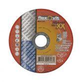 Flexovit doorslijpschijf vlak MAXX Inox 125x1,3x22,23 T41